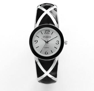Studio Time Women's Crisscross Bangle Watch