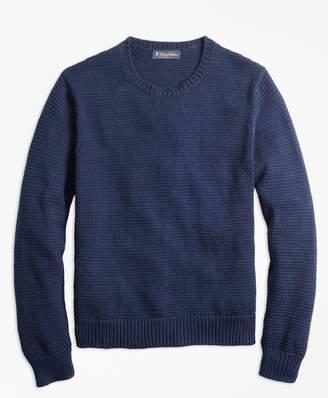 Brooks Brothers Pima Cotton Crewneck Sweater