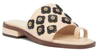 Cole Haan Carly Floral Leather Sandal