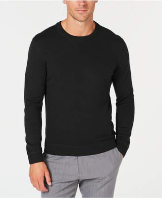 Tasso Elba Men's Lux Crew-Neck Sweater