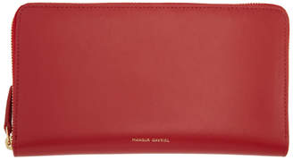 Mansur Gavriel Red Continental Wallet