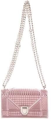 Christian Dior Small Metallic Diorama Bag