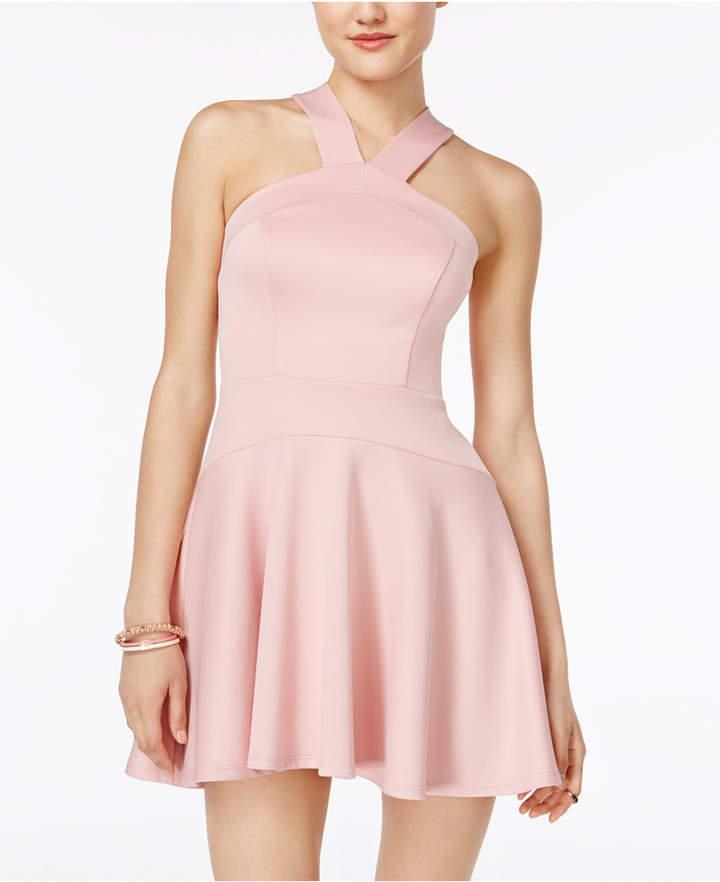 B. Darlin Juniors' Scuba Fit & Flare Dress