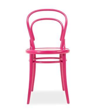 Bent Bistro Chair Hot Pink