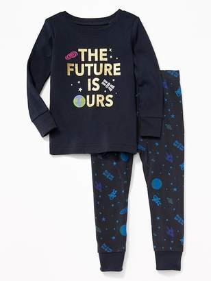 """Old Navy """"The Future is Ours"""" Sleep Set for Toddler & Baby"""