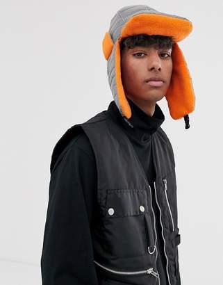 7x SVNX reflective trapper hat