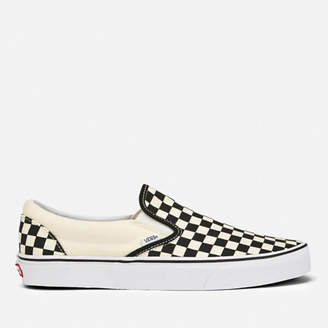 2f1351864d97b6 Vans Classic Slip-On Canvas Trainers - Black White