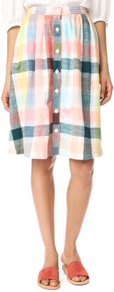 ace&jig Carver Skirt $242 thestylecure.com