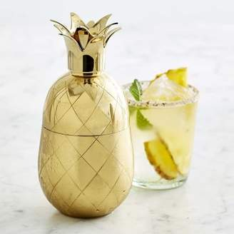 Williams-Sonoma Williams Sonoma Gold Pineapple Cocktail Shaker