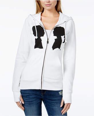 Boy Meets Girl Cotton Coco Logo-Print Hoodie Sweatshirt
