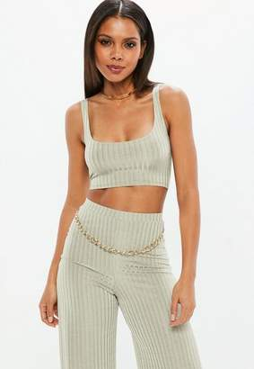 Missguided Ribbed Bralet