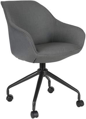 Zanui New York Loft Zina Office Chair, Liquorice