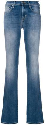 Jacob Cohen faded bootcut jeans