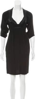 Twelfth Street By Cynthia Vincent V-Neck Mini Dress