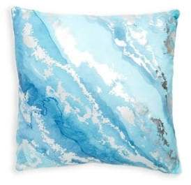 Thro Blue Tary Throw Pillow