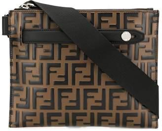 Fendi FF striped belt bag