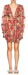 Zimmermann Women's Melody Cutout Floral Silk Dress