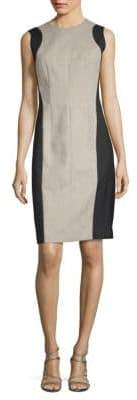 Narciso Rodriguez Double Face Sheath Dress