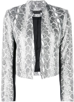 Alice + Olivia Alice+Olivia New Harvey leather jacket