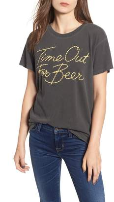 Junk Food Clothing Time Out For Beer Tee