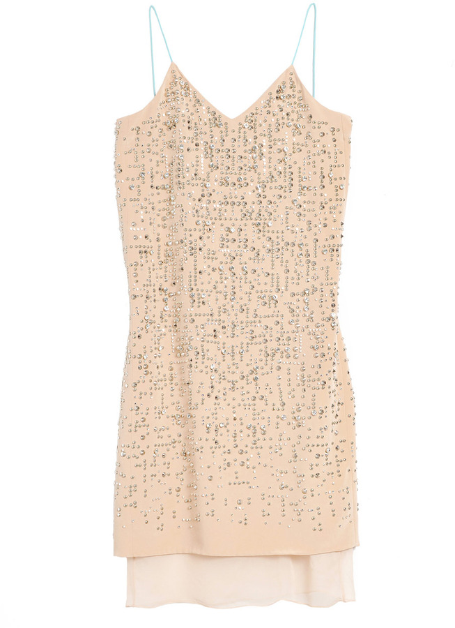 Rebecca Taylor Beaded Cami Dress