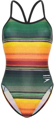 House of Holland Hydra Active striped swimsuit