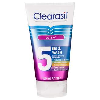Clearasil Ultra 5 in 1 Wash 150 mL