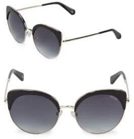 Balmain Gradient 55MM Cat Eye Sunglasses