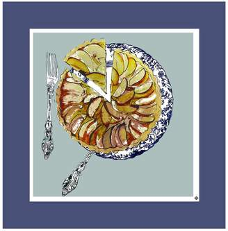 Jessica Russell Flint - The Apple Tart Plate Limited Edition Signed Print