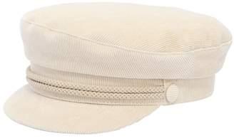 Corduroy Capitan's Hat W/ Rope Detail