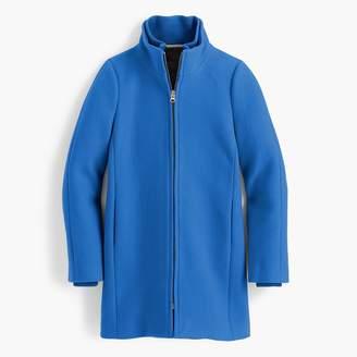 Lodge coat in Italian stadium-cloth wool