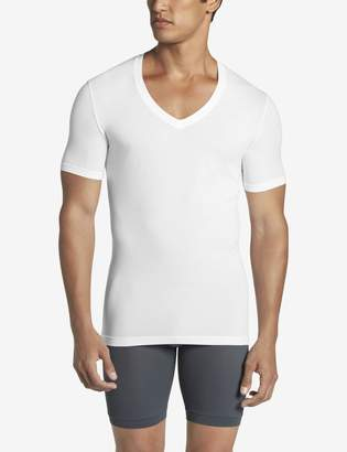 Tommy John Tommyjohn Cool Cotton Deep V-Neck Stay-Tucked Undershirt