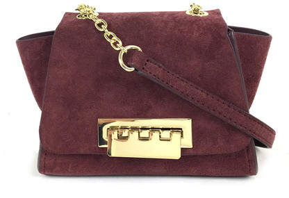 ZAC Zac Posen Eartha Iconic Suede Crossbody Bag