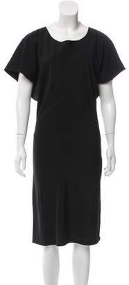 AllSaints Short Sleeve Midi Dress