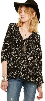 Ralph Lauren Denim & Supply Floral-Print Boho Top $98 thestylecure.com