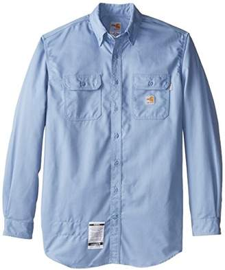 Carhartt Men's Big & Tall Flame Resistant Classic Twill Shirt