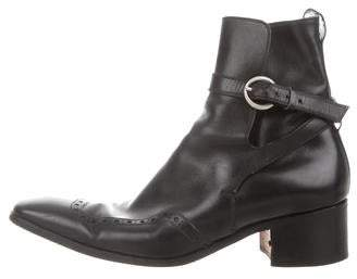 Saint Laurent Johnny Ankle Boots