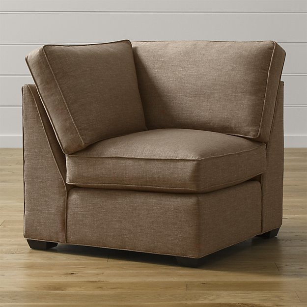Crate & Barrel Davis Corner Chair