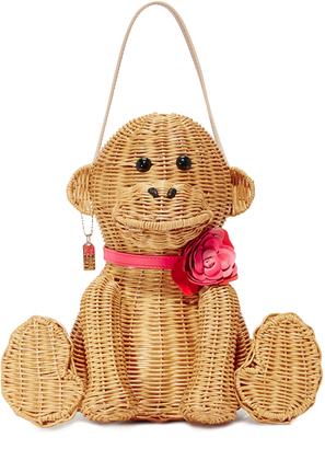 Kate Spade New York Wicker Monkey Bag $398 thestylecure.com