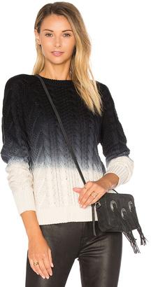 Autumn Cashmere Dip Dye Sweater $209 thestylecure.com