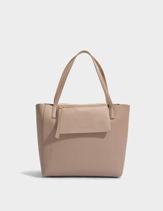 Salvatore Ferragamo Mimi Tote Bag in Bicolour Grainy Leather