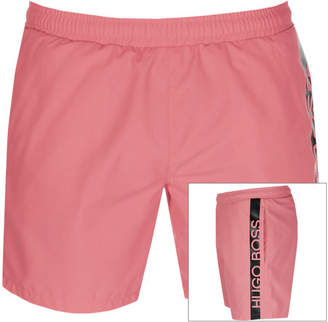 b6705005d HUGO BOSS Boss Business Dolphin Swim Shorts Pink