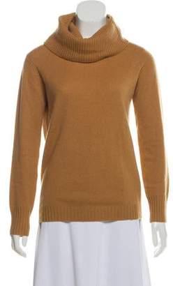 Zero Maria Cornejo Cashmere Cowl Neck Sweater