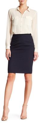 BOSS HUGO BOSS Vanyka Wool Blend Pencil Skirt $295 thestylecure.com