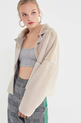 Urban Outfitters Felicity Reversible Faux Fur Jacket