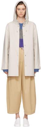Stutterheim Beige Stockholm Raincoat