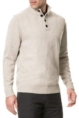 Rodd & Gunn Men's Kent Terrace Button-Neck Sweater