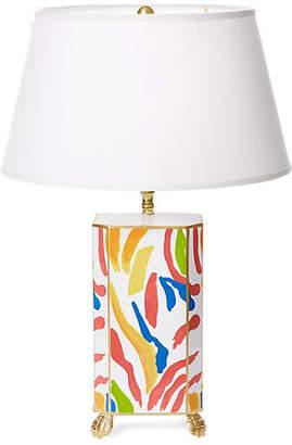 Dana Gibson Abstract Table Lamp