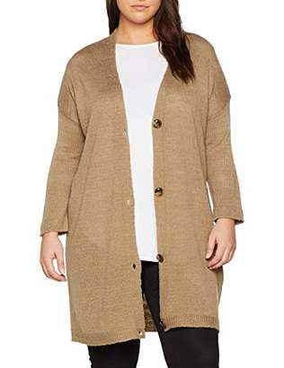 New Look Curves Women's Knitted Cardigan,Size: