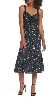 Adelyn Rae Addison Tie Front Dress